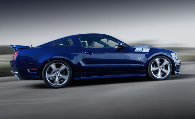 2010: Release of the 2011 Saleen 302 Mustang