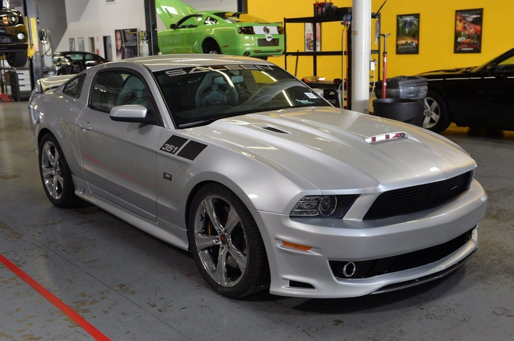 2012: Release of the 2013 Saleen 351 Mustang