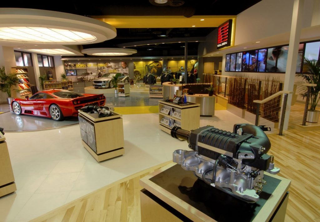 2006: The Saleen Store