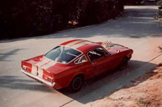 1970: Steve continues to modify his GT350