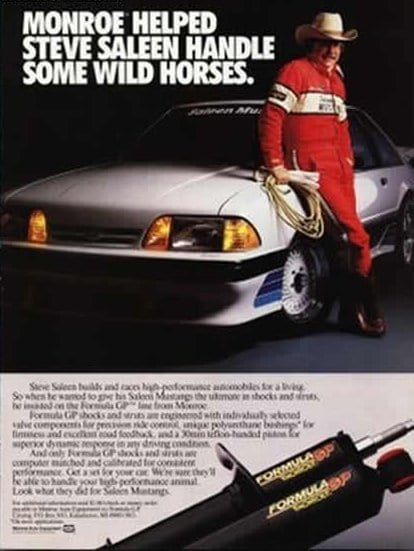 1987: Steve does his first advertisement