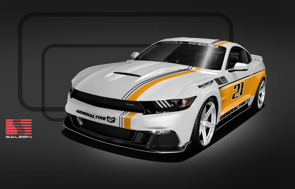 2017: Saleen introduces its 30th racing anniversary S302  Mustang