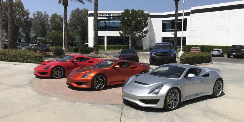 SALEEN and SOEC present the World's Largest Saleen Show!