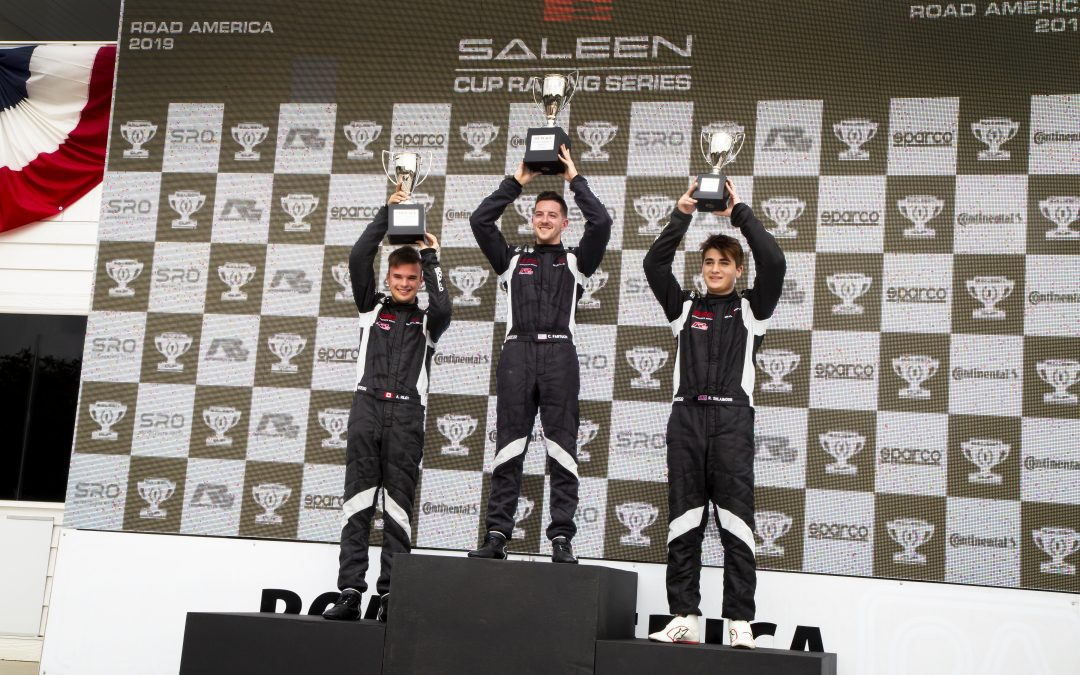 SALEEN CUP RACING SERIES  ADVANCES AT ROAD AMERICA