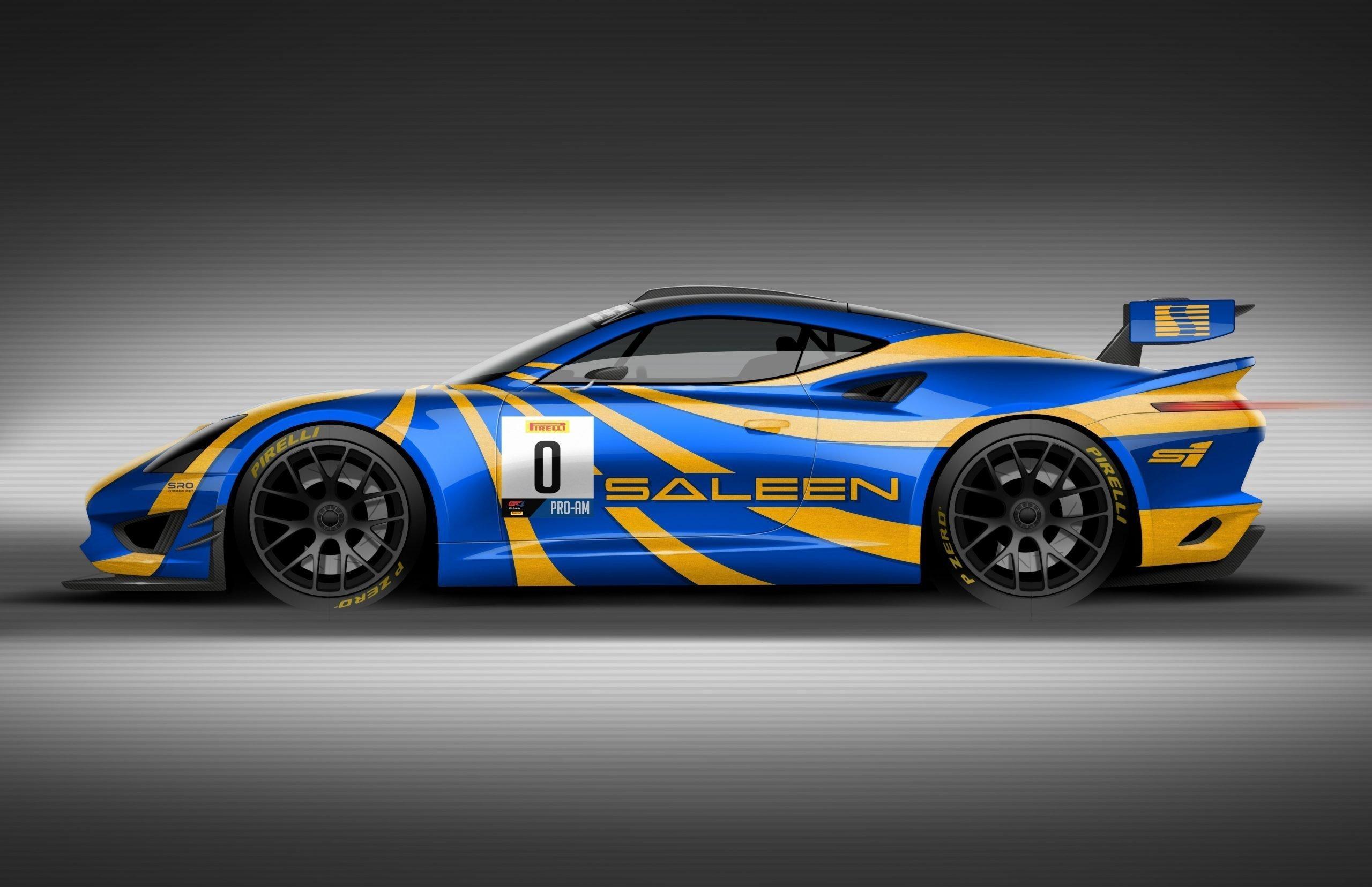 Saleen Unveils Gt4 Concept Race Car Saleen