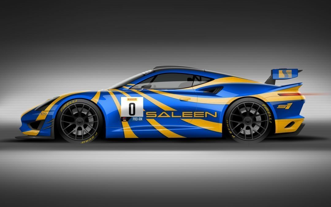 SALEEN UNVEILS GT4 CONCEPT RACE CAR