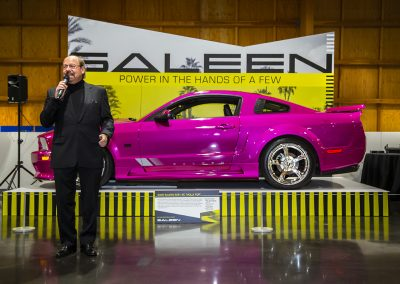 Saleen Automotive founder and CEO Steve Saleen