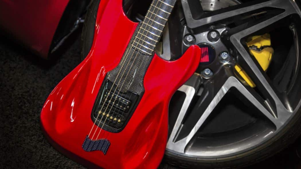 RobbReport: This Bespoke Fender Stratocaster Was Inspired By A Saleen S1 Sportscar
