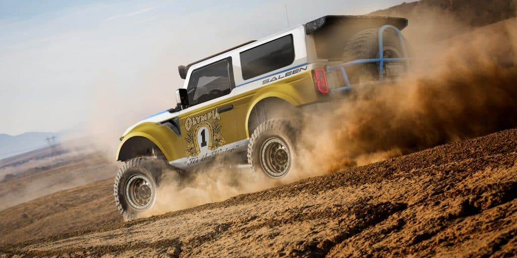 2020: SALEEN ANNOUNCES PLANS FOR ITS NEW BRONCO