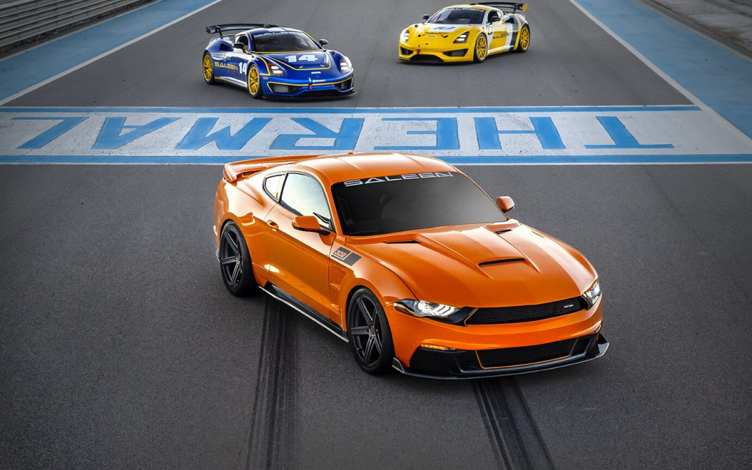 Saleen 800 Horsepower S302 'Black Label' Mustang — TorqTalk